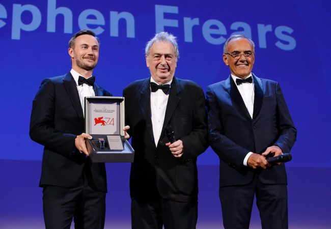 Director Stephen Frears Receives Glory to the Filmmaker Award at Venice International Film Festival
