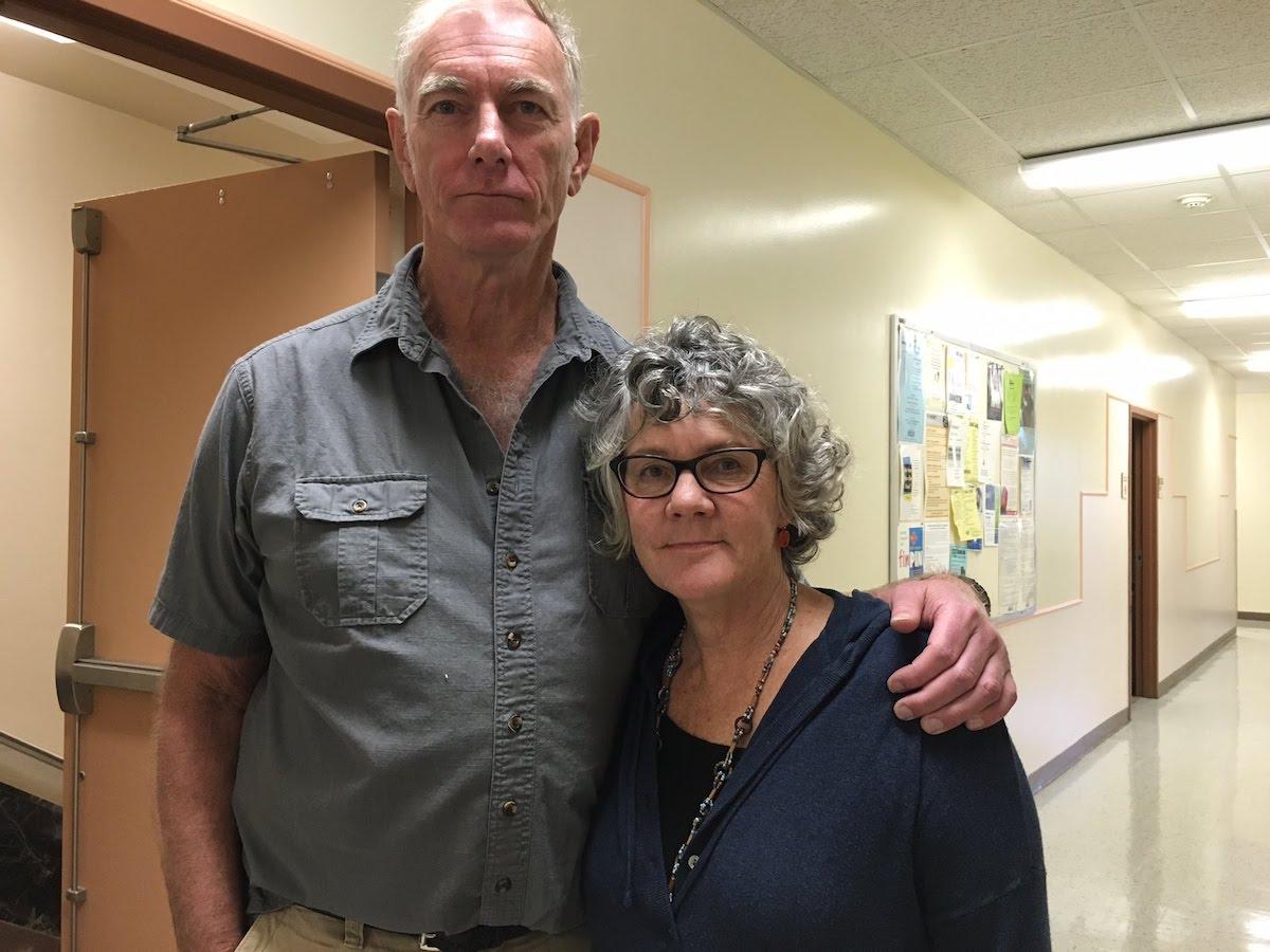 John Sayles and Maggie Renzi