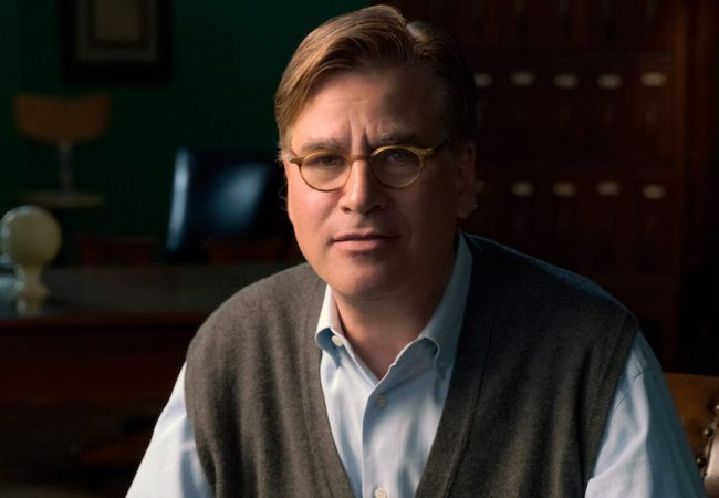 Aaron Sorkin to Receive Career Achievement Award + Premiere MOLLY'S GAME at Zurich Film Festival