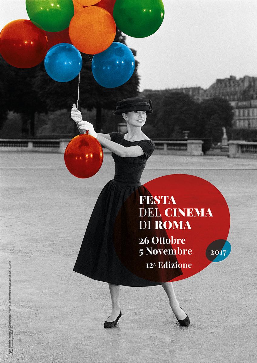 Official Poster of 12th Rome Film Fest Audrey Hepburn