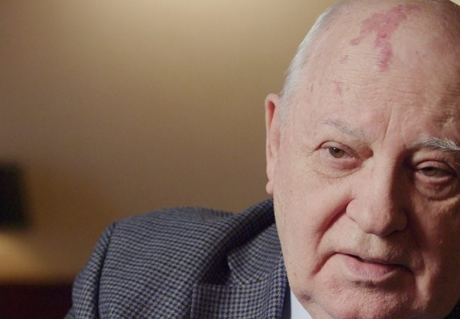 THE ARROW OF TIME, Documentary on Mikhail Gorbachev, will World Premiere at Zurich Film Festival