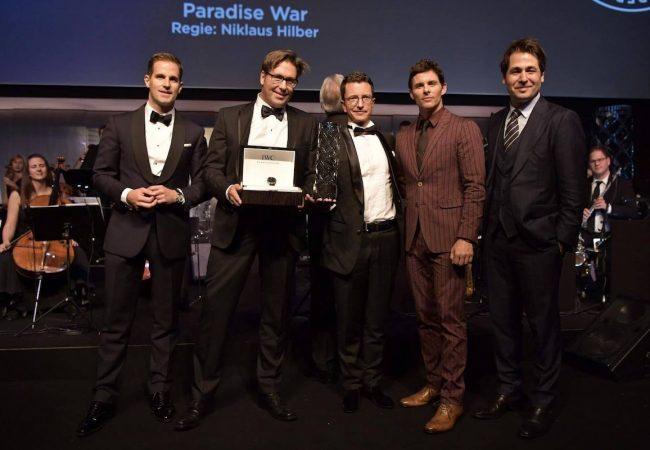 Niklaus Hilber's PARADISE WAR Wins 3rd Filmmaker Award at Zurich Film Festival