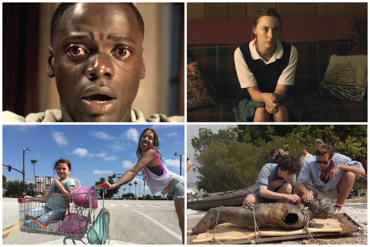 2017 Gotham Awards Nominations - Get Out, Call Me By Your Name, The Florida Project, Lady Bird