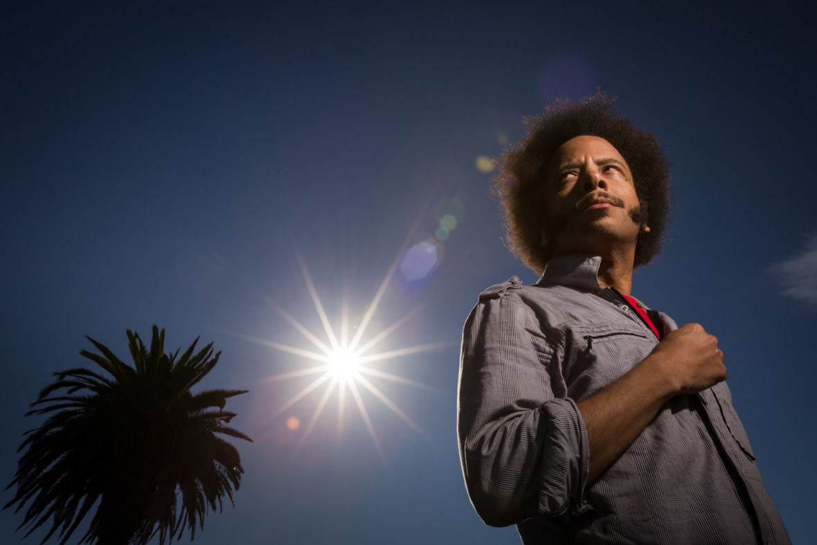 Boots Riley - director of'Sorry to Bother You'