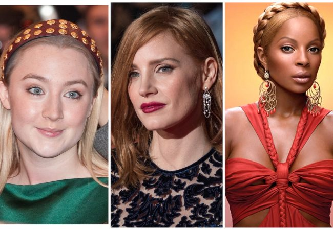 Saoirse Ronan, Jessica Chastain and Mary J Blige