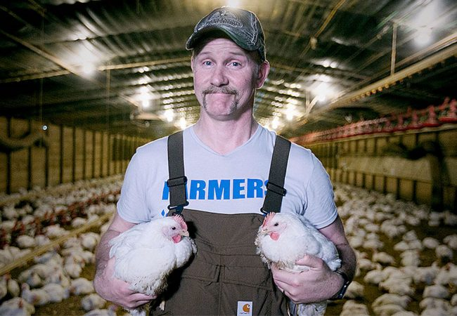 "Morgan Spurlock in ""Super Size Me 2: Holy Chicken!"""