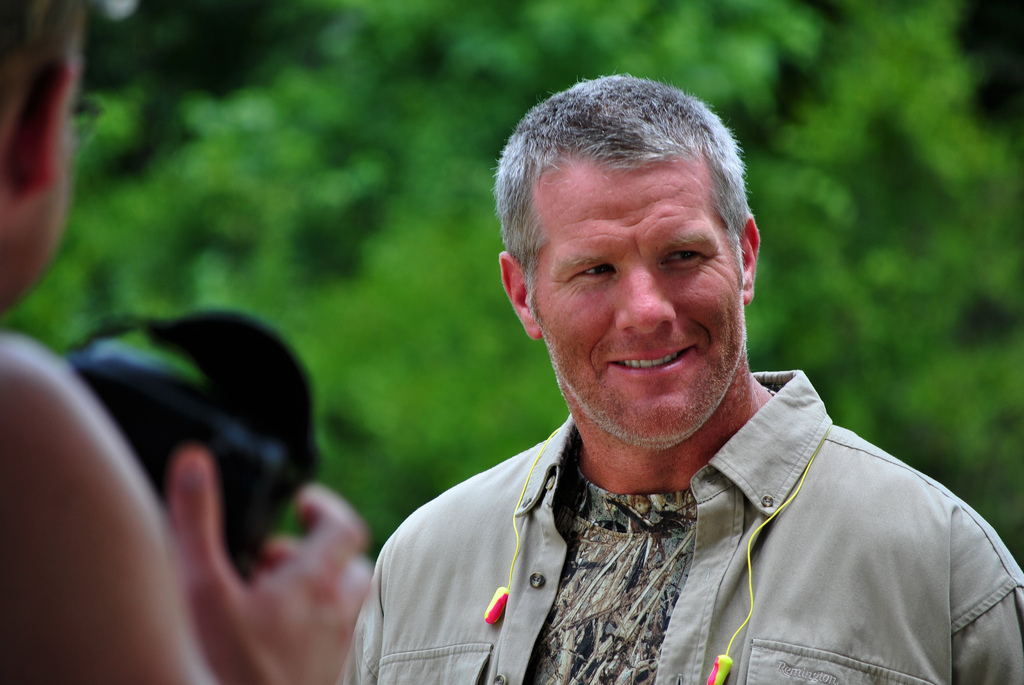 """Brett Favre, documentary """"Shocked: A Hidden Factor in the Sports Concussion Crisis"""""""