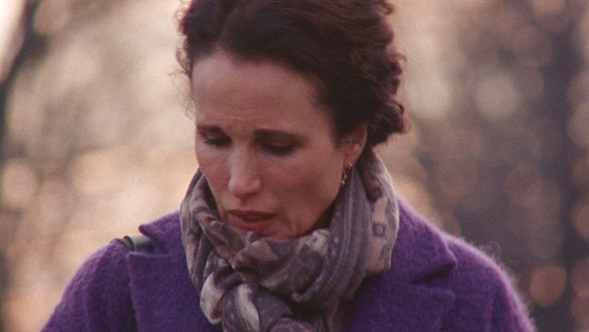 Andie MacDowell as Suzanne in LOVE AFTER LOVE.