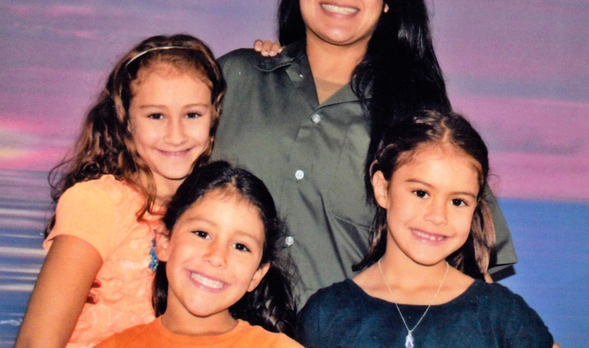 Cynthia Shank, Autumn Shank, Ava Shank and Annalis Shank appear in The Sentence by Rudy Valdez, an official selection of the U.S. Documentary Competition at the 2018 Sundance Film Festival. Courtesy of Sundance Institute.