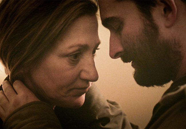 See Trailer and Poster for OUTSIDE IN Starring Edie Falco and Jay Duplass