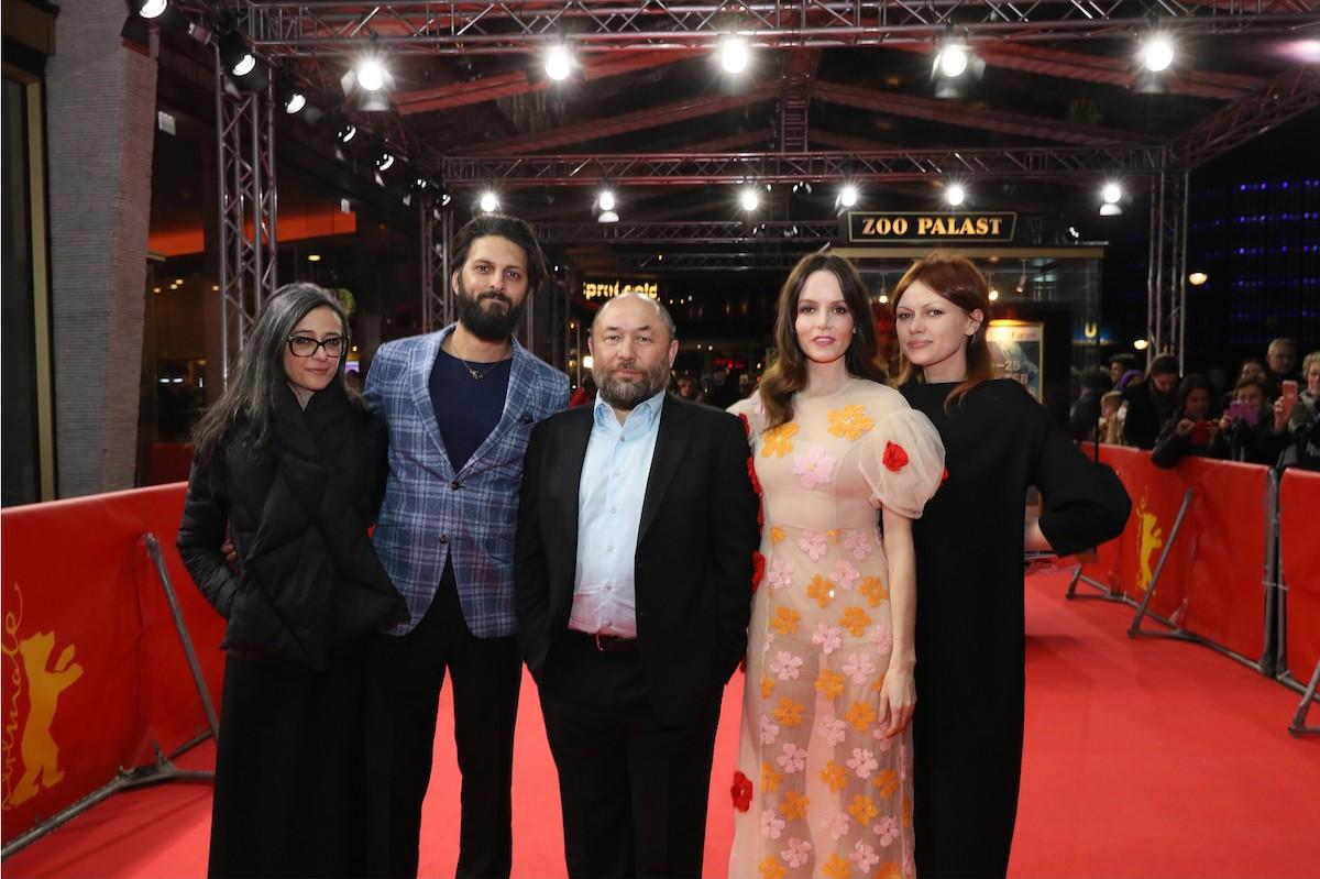 Panorama Audience Award Winner movie: profiles of Timur Bekmambetov Paz Lázaro (Head of Panorama ), Shazad Latif, Timur Bekmambetov, Valene Kane, Olga Kharina
