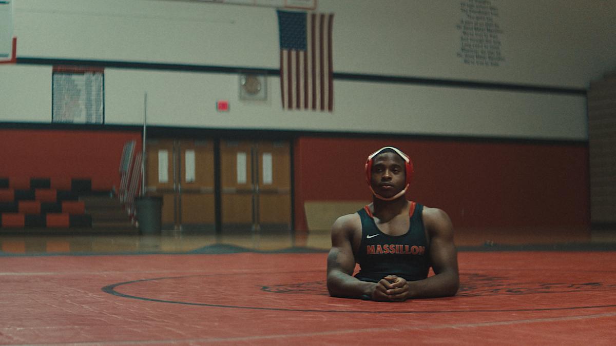 Zion Clark appears in ZION by Floyd Russ | photo by Gregory Wilson