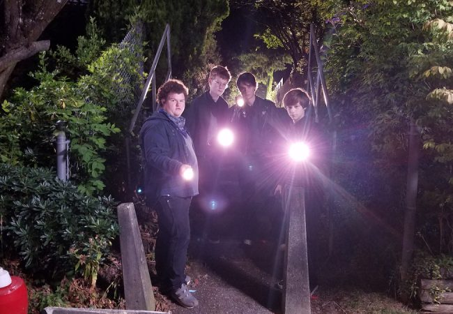 Caleb Emery, Cory Grüter-Andrew, Judah Lewis and Graham Verchere appear in Summer of '84 by Francois Simard, Anouk Whissell and Yoann Whissell