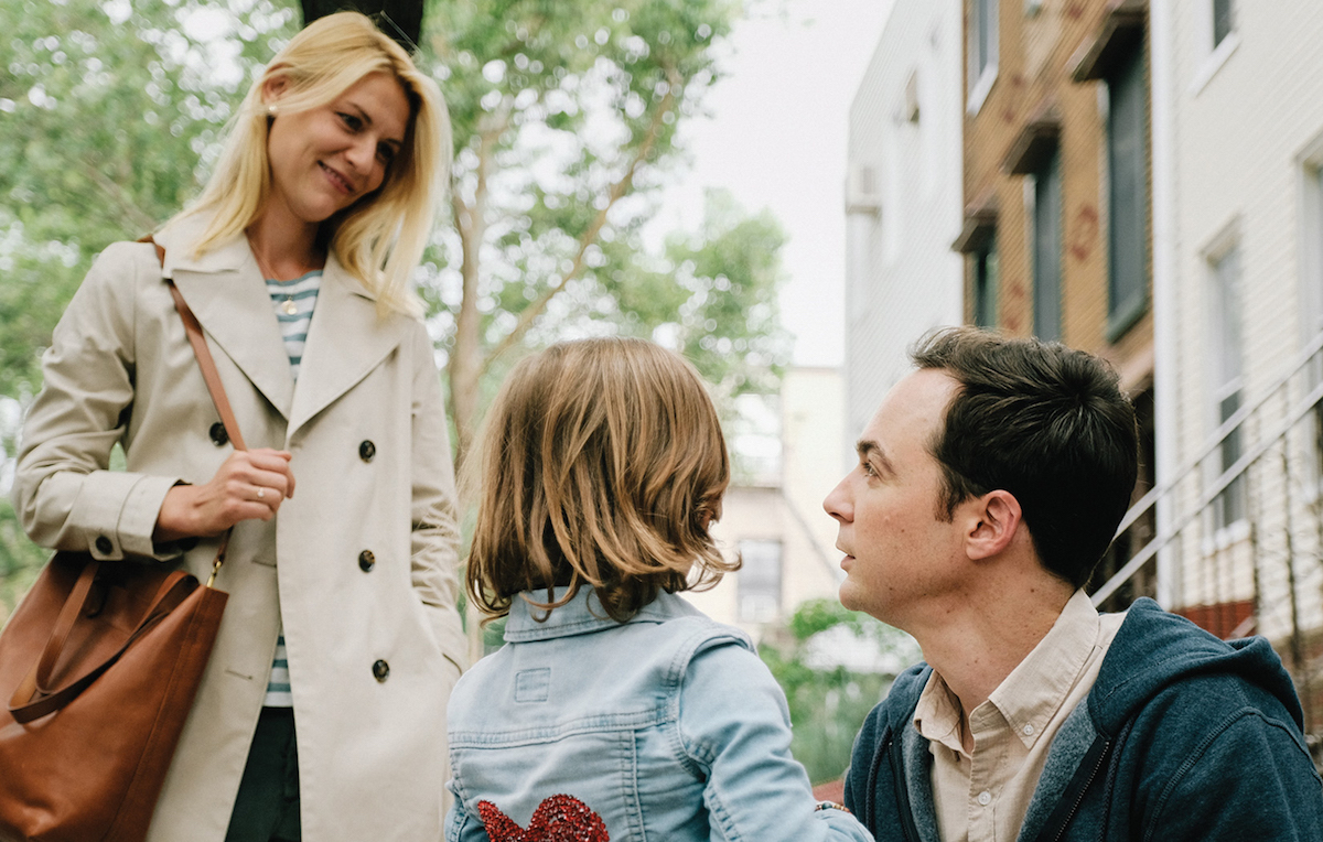Claire Danes, Jim Parsons, and Leo James Davis appear in A Kid Like Jake by Silas Howard