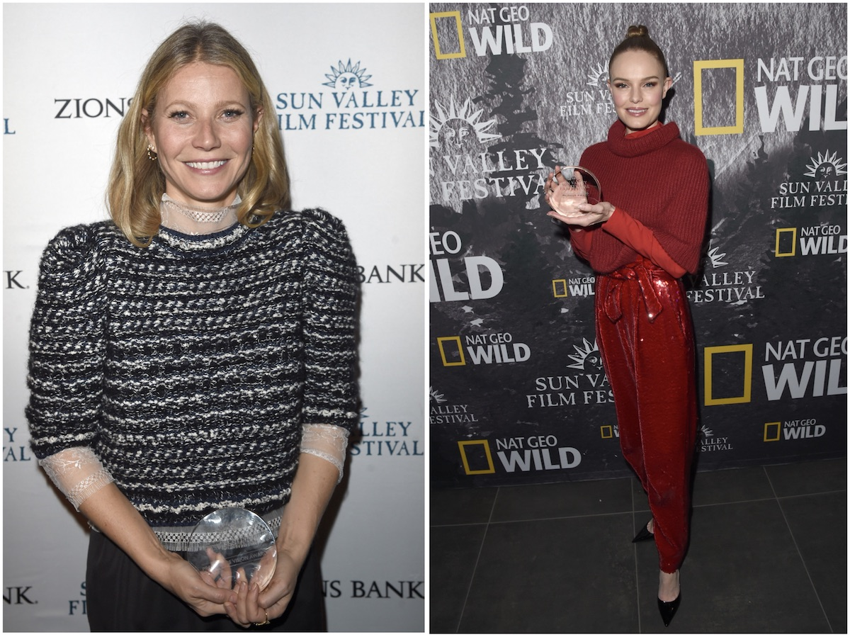 Gwyneth Paltrow and Kate Bosworth receive awards at 2018 Sun Valley Film Festival