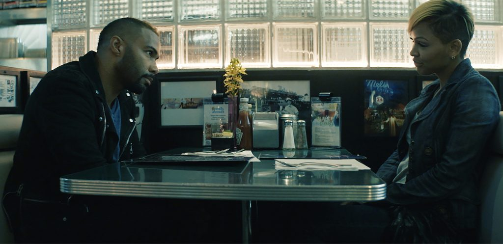 Omari Hardwick and Meagan Good appear in A Boy, A Girl, A Dream. by Qasim Basir.