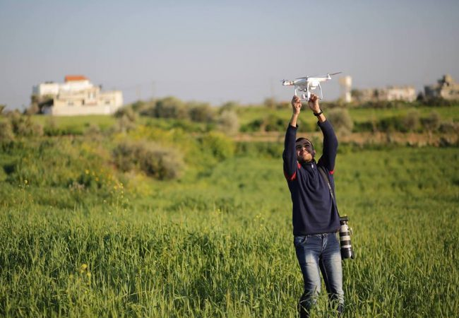 RIP: Yaser Murtaja, Photojournalist/Cameraman Killed Wearing 'PRESS' Vest Covering Gaza Protest