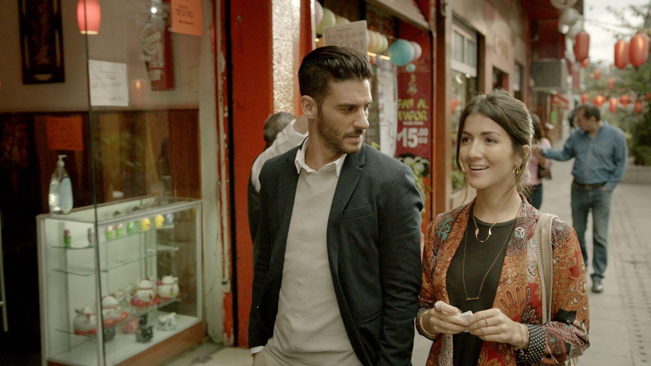 Erick Elias and Eréndira Ibarra in A Ti Te Queria Encontrar