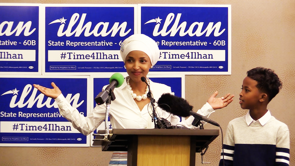 Campaign Documentary Tribeca From video Omar's Time Clip Somali-american For Vimooz Muslim Watch 2018 On Political Ilhan