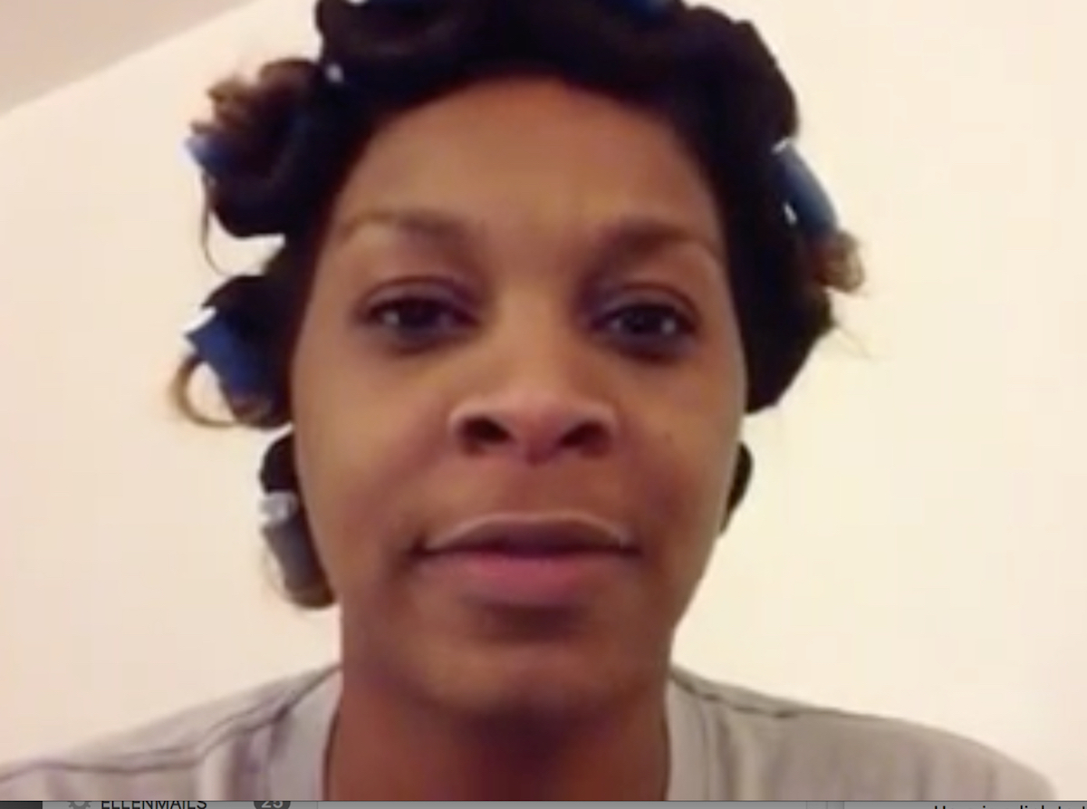 Sandra Bland in SAY HER NAME: THE LIFE AND DEATH OF SANDRA BLAND.