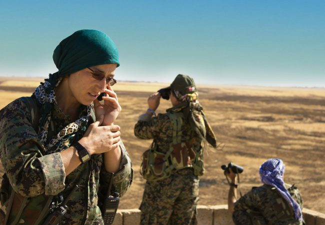 First Look at Women Commandos Fighting Isis in Documentary 'Commander Arian – A Story of Women, War and Freedom' [VIDEO]
