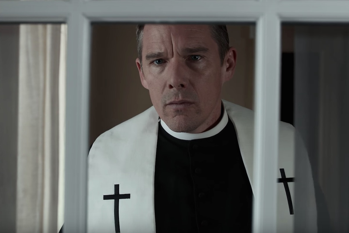 First Reformed, directed by Paul Schrader