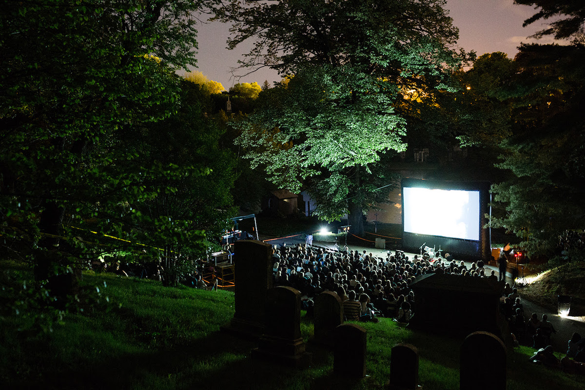 Rooftop Films Kicked off 2018 Summer Series with an Evening of Short Films at Green-Wood Cemetery