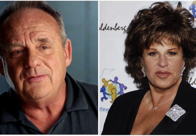 Paul Guilfoyle and Lainie Kazan