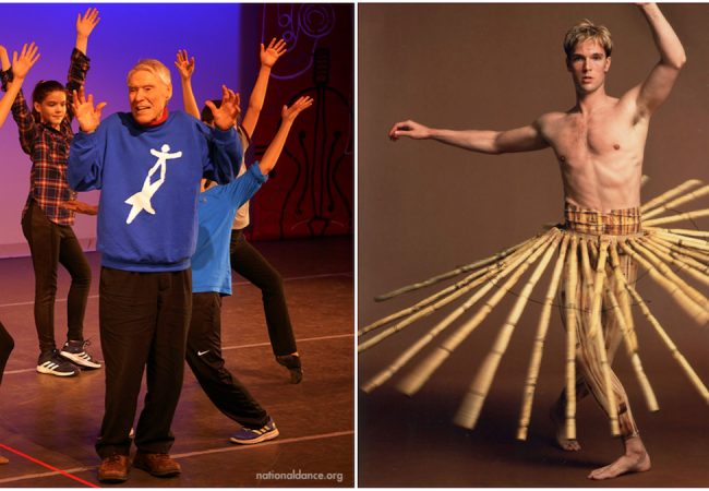 Jacques D'Amboise and Trey McIntyre