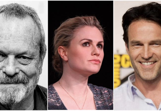 Terry Gilliam, Anna Paquin, Stephen Moyer