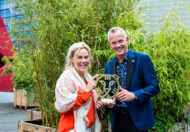 Marjan van der Haar and Bero Beyer