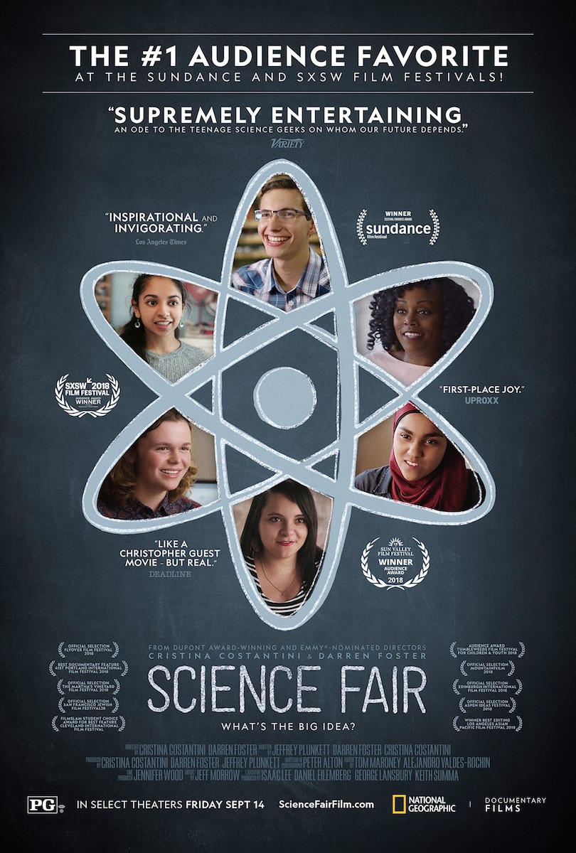Science Fair Movie Poster