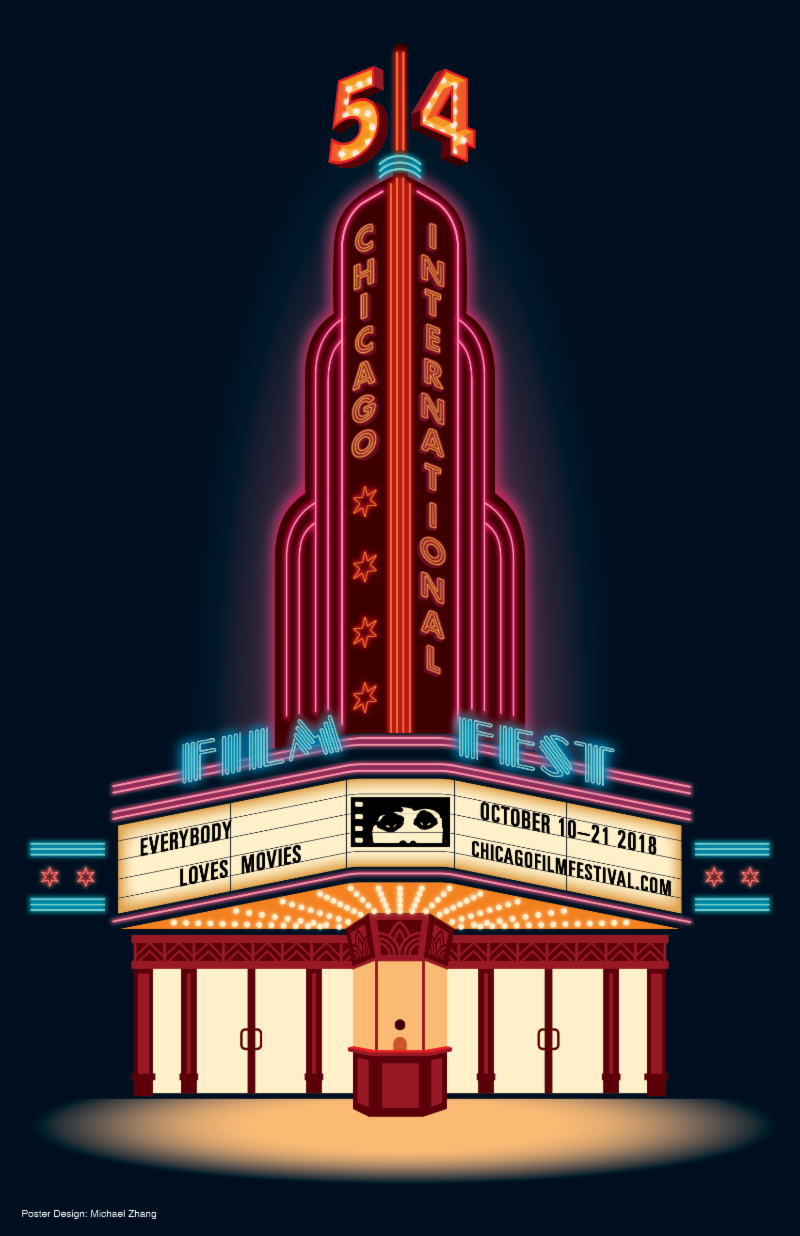 Michael Zhang Wins 54th Chicago International Film Festival Poster Design Contest