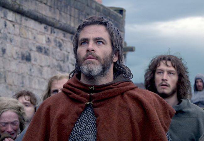 World Premiere of Period Drama OUTLAW KING Starring Chris Pine to Open Toronto International Film Festival