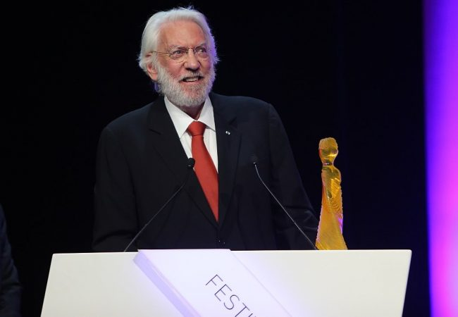 Actor Donald Sutherland to Receive Zurich Film Festival's Lifetime Achievement Award