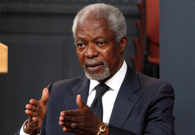 Kofi Annan's Suspended Dream