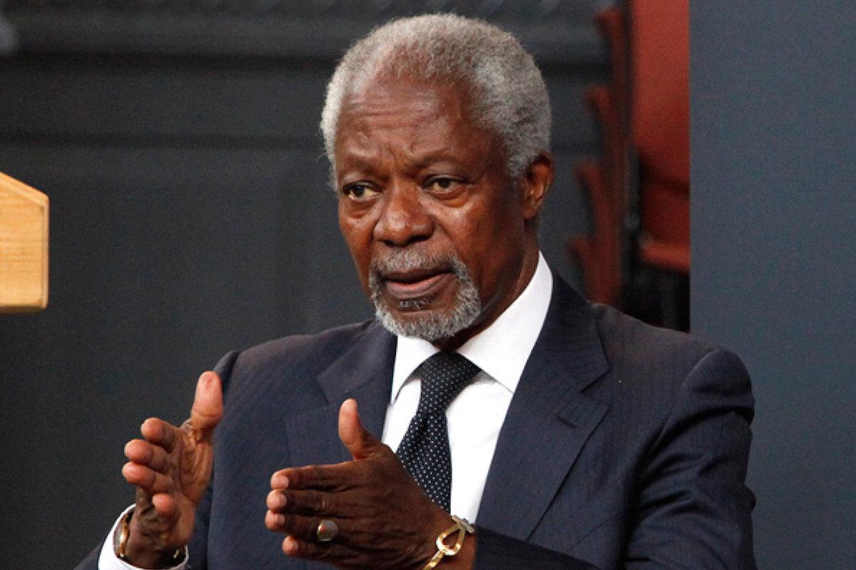 Kofi Annan's Suspended Dream