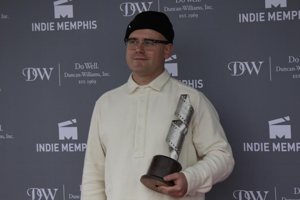 Cinematography Award Winner James Laxton (Photo Courtesy of Indie Memphis)