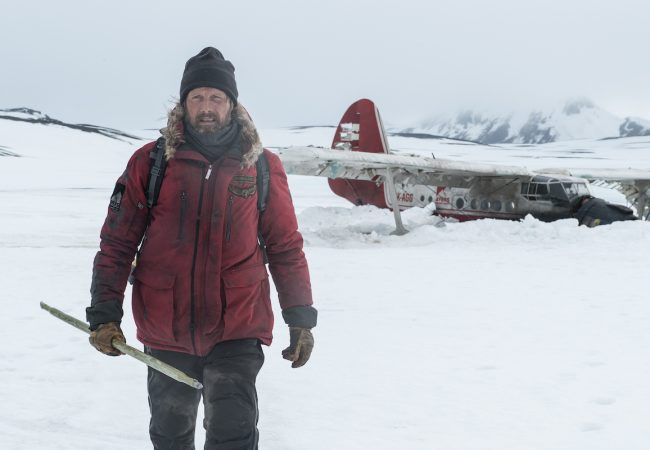 Watch First Video Clip + Official Poster for ARCTIC Starring Mads Mikkelsen