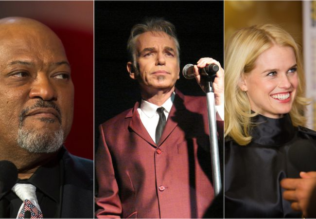 Laurence Fishburne, Billy Bob Thornton and Alice Eve to be Honored at Napa Valley Film Festival