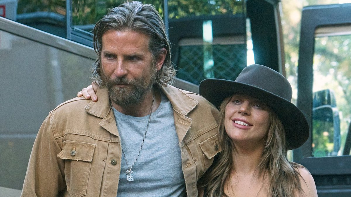 Bradley Cooper along with Lady Gaga in A Star is Born