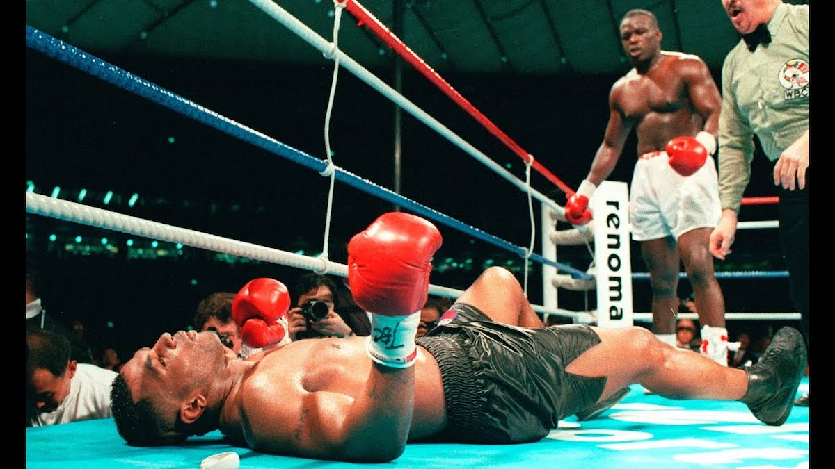 """ESPN Films 30 for 30 - """"42 to 1"""" on Buster Douglas 1990 Victory Over Mike Tyson"""