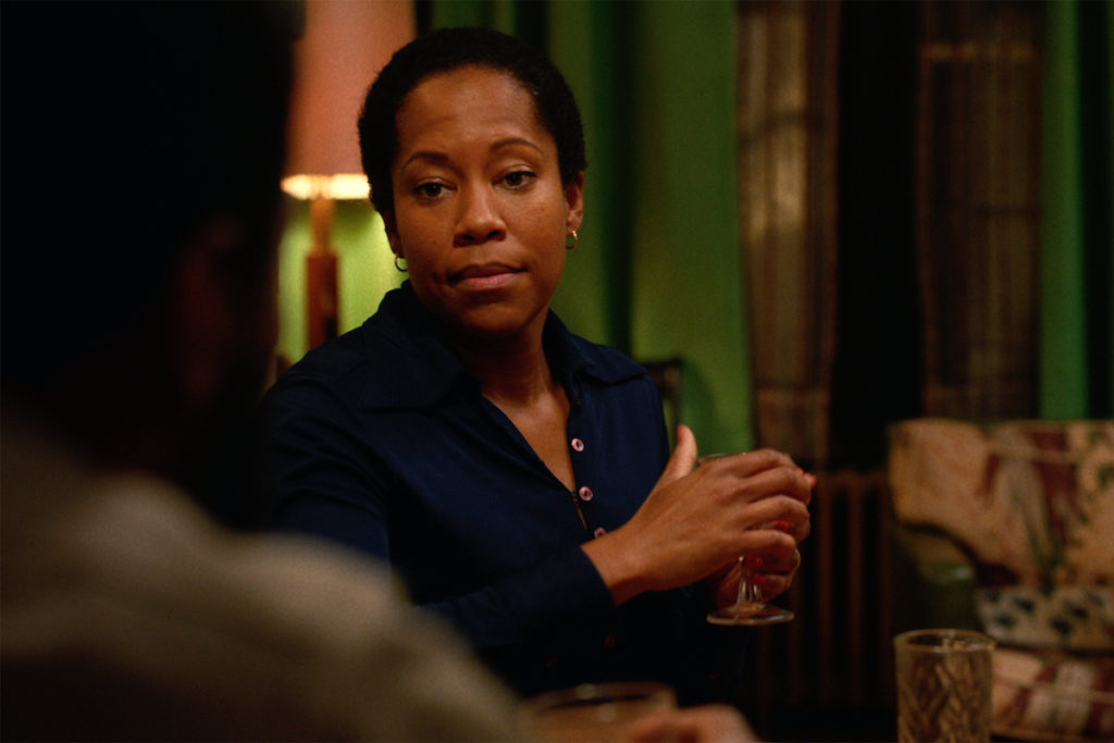 Regina King in If Beale Street Could Talk