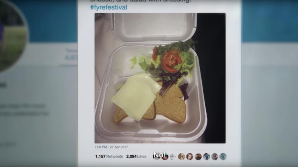 Fyre Music Festival Netflix documentary