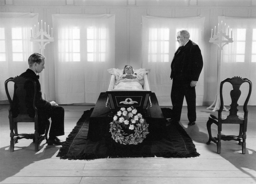 Cay Kristiansen, Birgitte Federspiel, Henrik Malberg. Ordet (Das Wort / The Word). Regie/director: Carl Theodor Dreyer. Quelle/source: Danish Film Institute