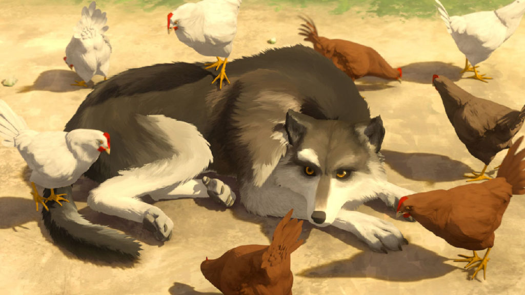 White Fang directed by Alexandre Espigares
