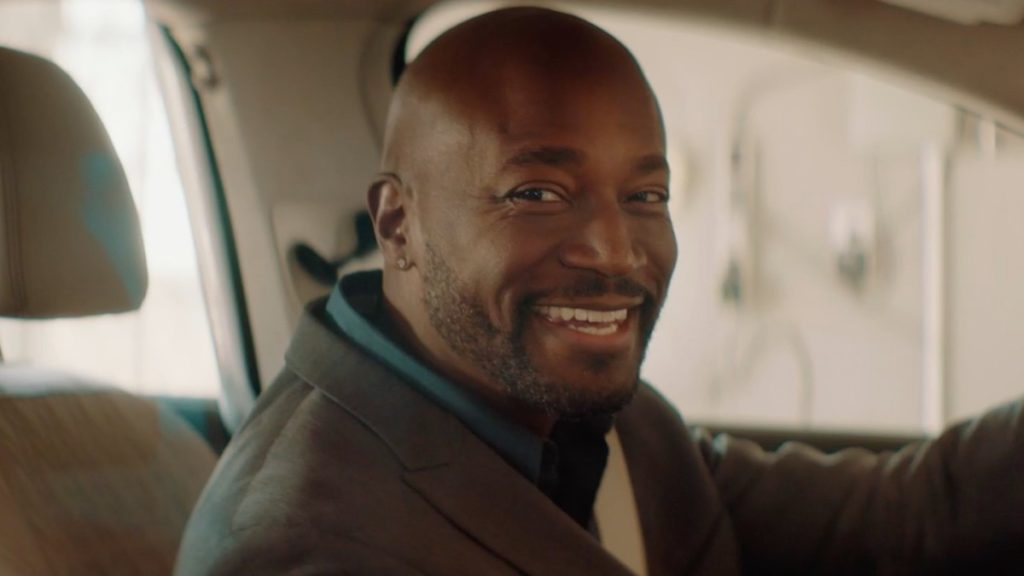 "Taye Diggs in ""River Runs Red"""