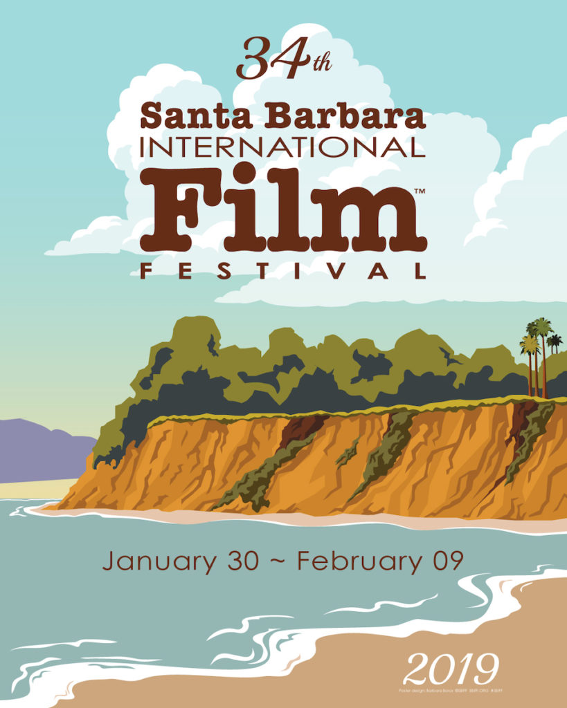 2019 Santa Barbara International Film Festival Poster