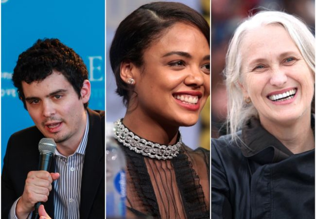 Damien Chazelle, Tessa Thompson, Jane Campion