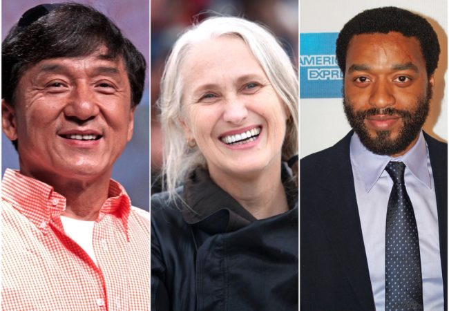 Jackie Chan, Jane Campion, Chiwetel Ejiofor